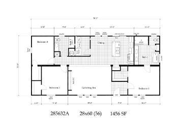 Davy Crockett Floorplan