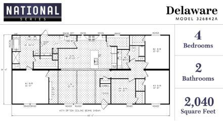 Delaware Floorplan