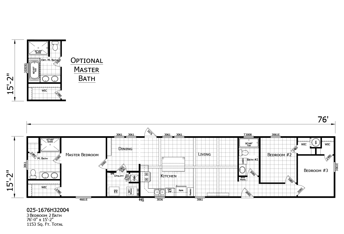 Champion Premier Floorplan