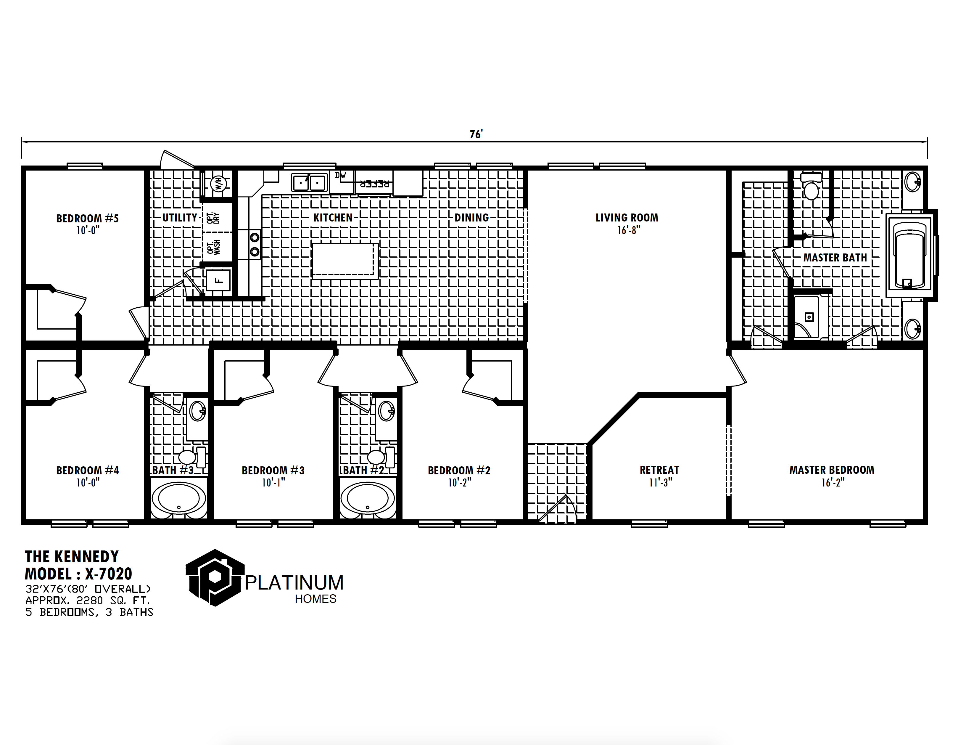 Kennedy Floorplan