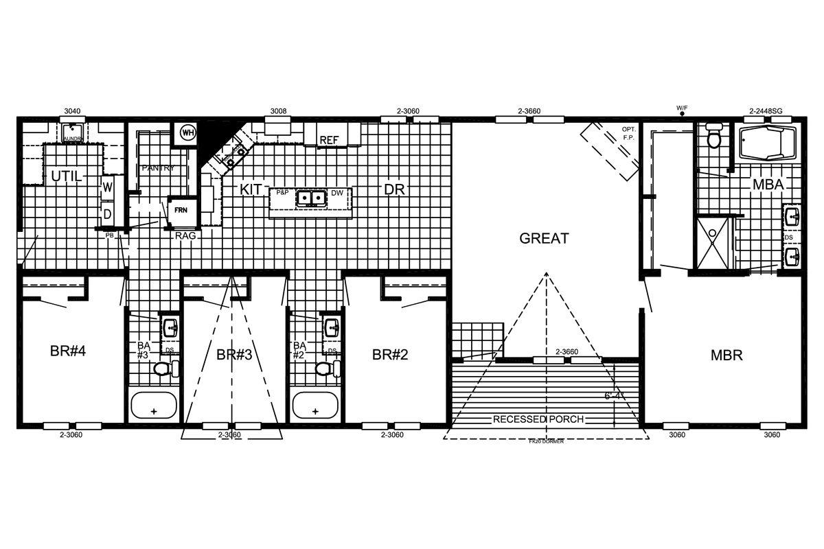 The Mason  Floorplan
