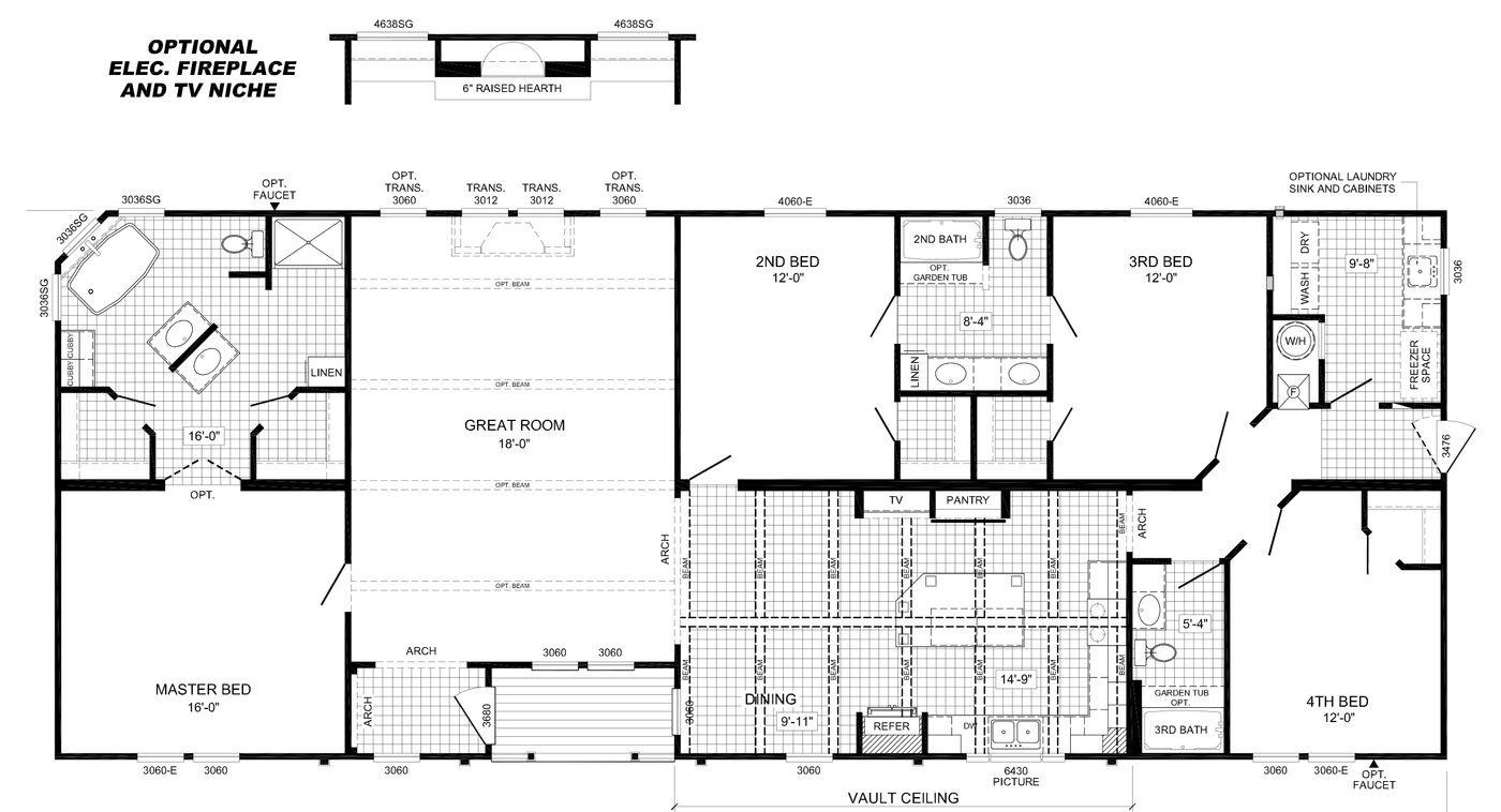 The Cavalier Floorplan