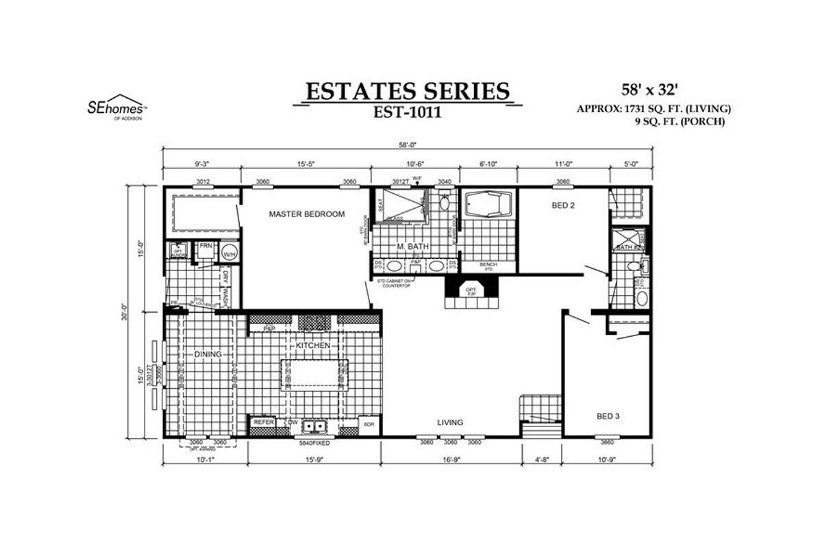 The Abigail  Floorplan