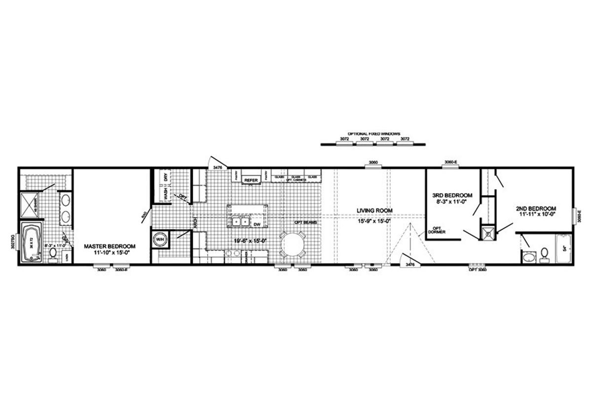 The Burnett Floorplan