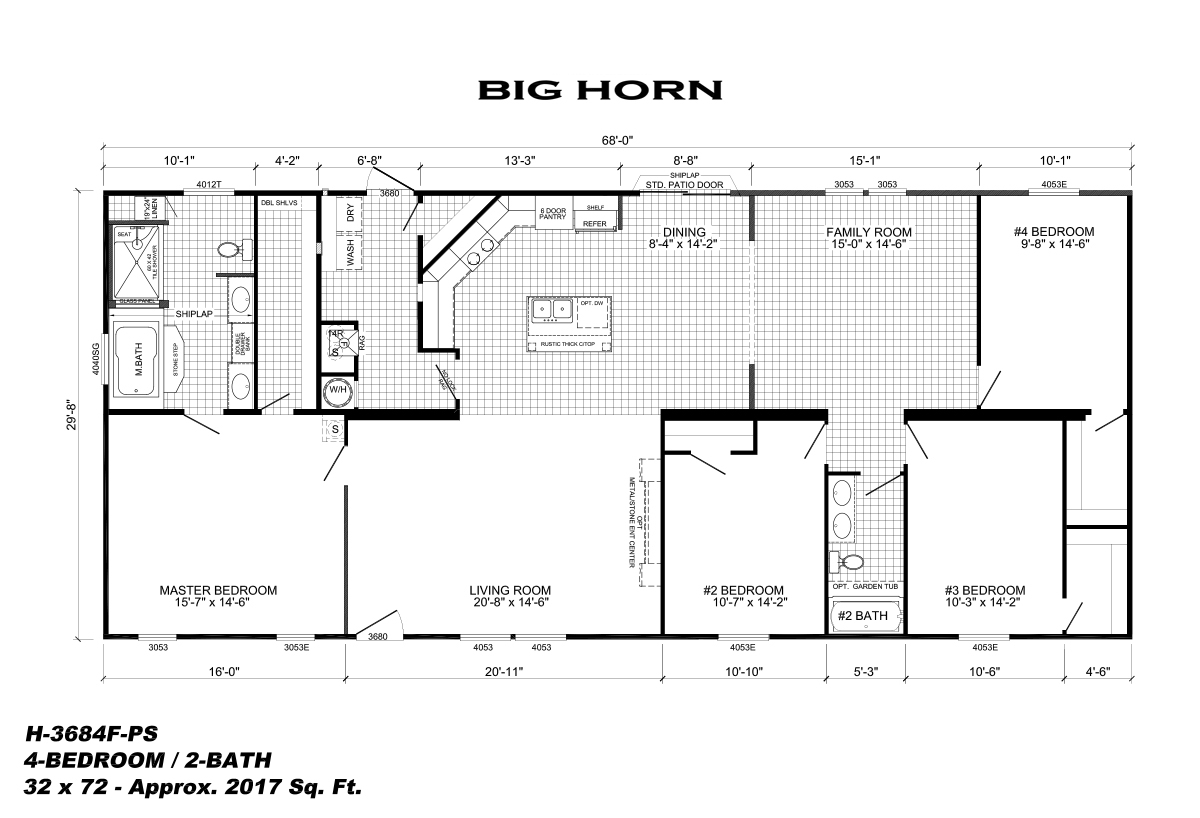 Big Horn  Floorplan