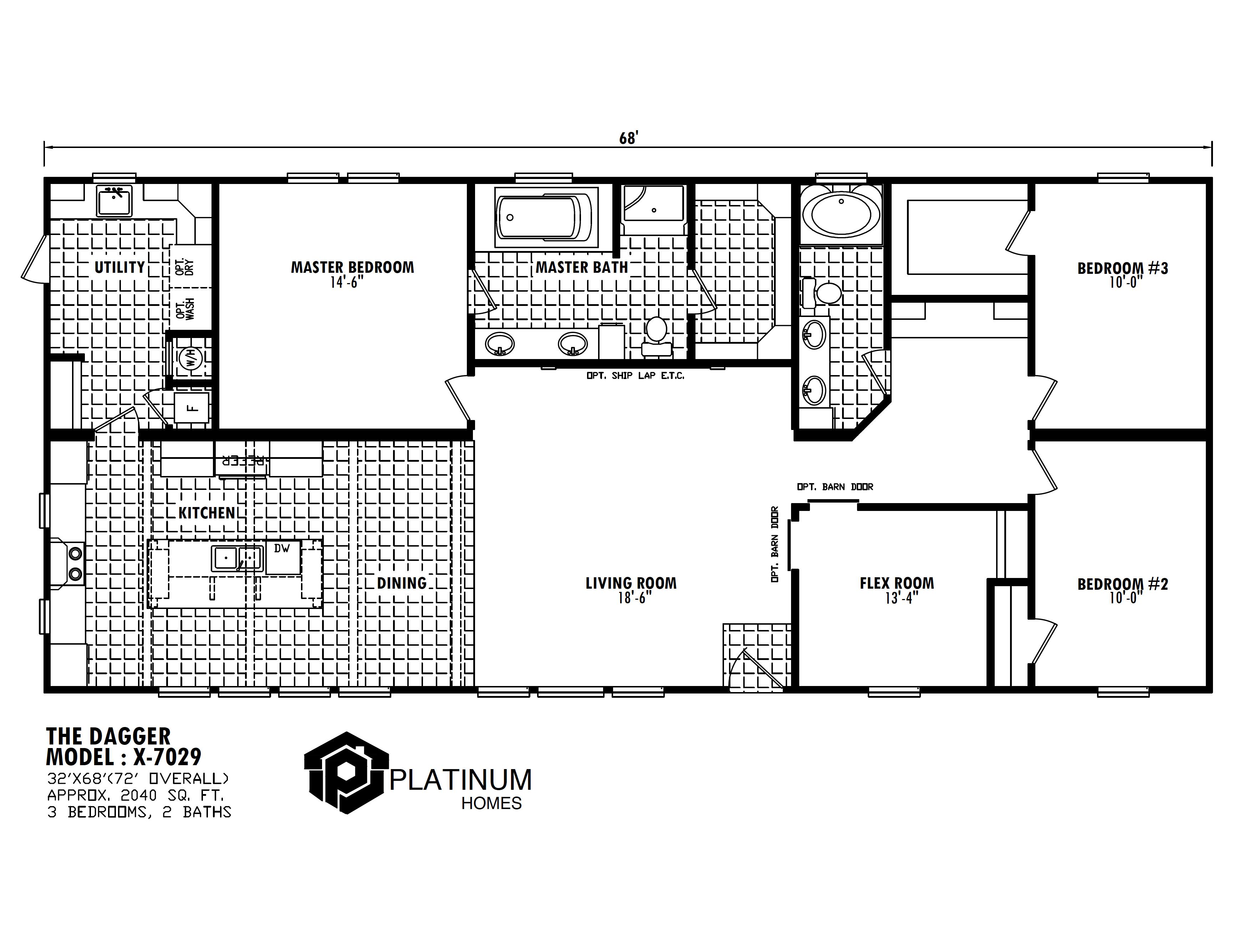 The Dagger  Floorplan