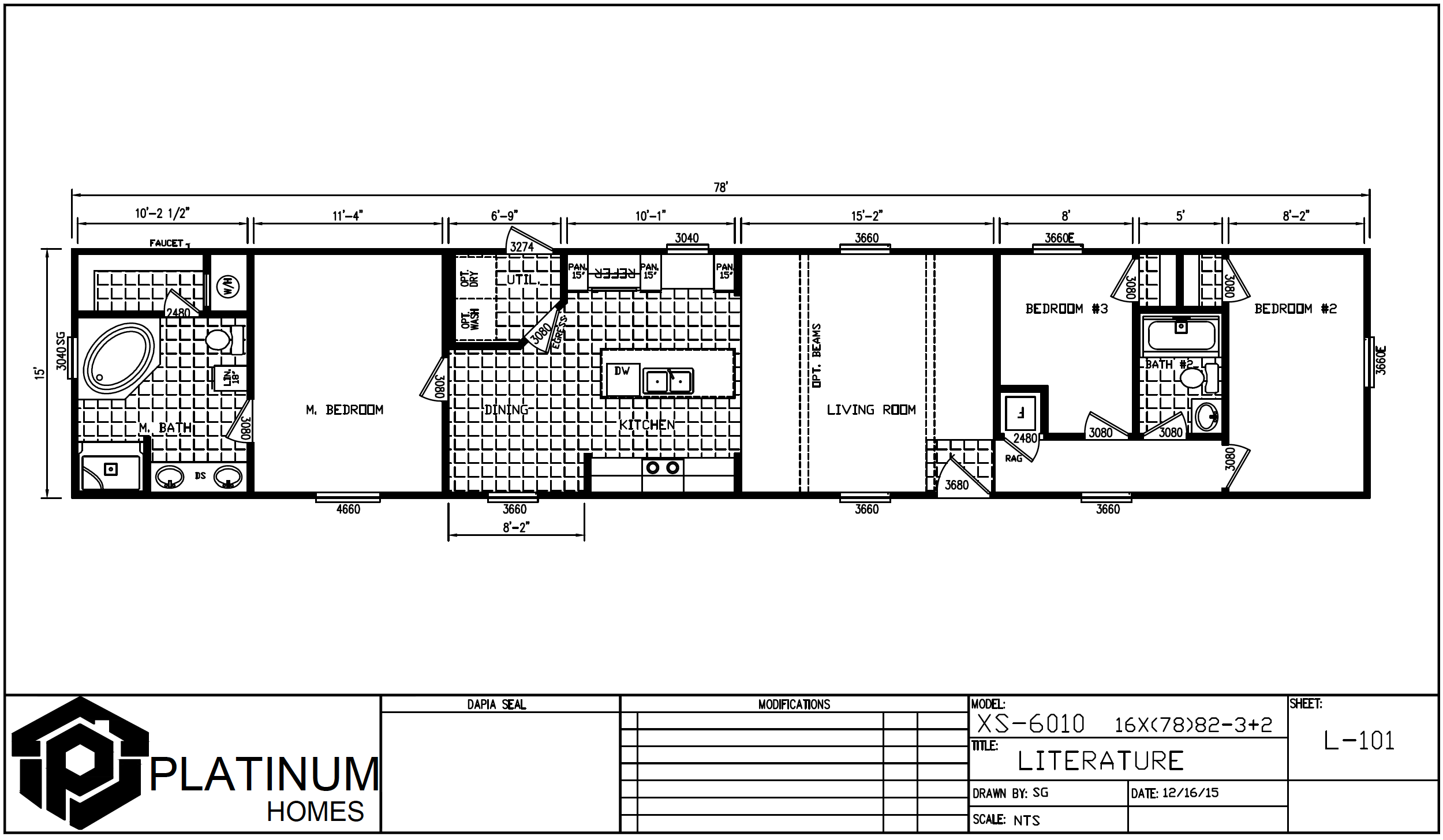 The Taylor  Floorplan