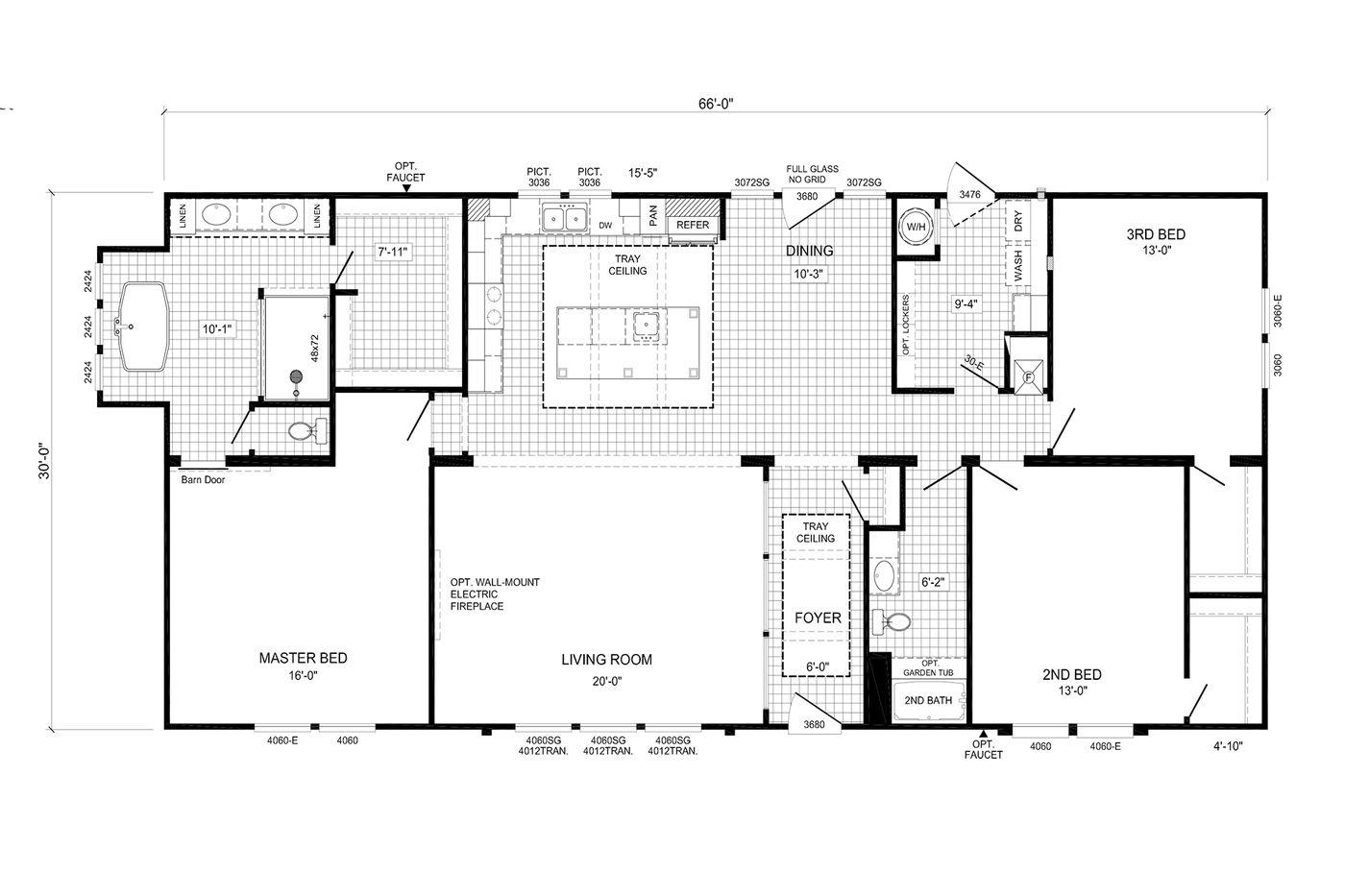 The Churchill Floorplan