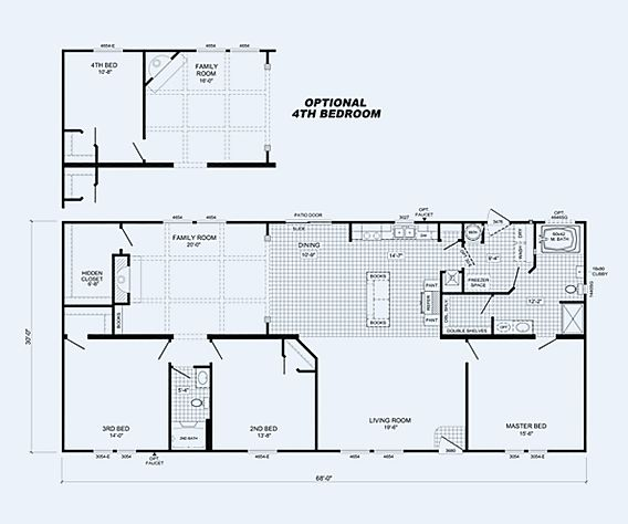 The Nutcracker  Floorplan