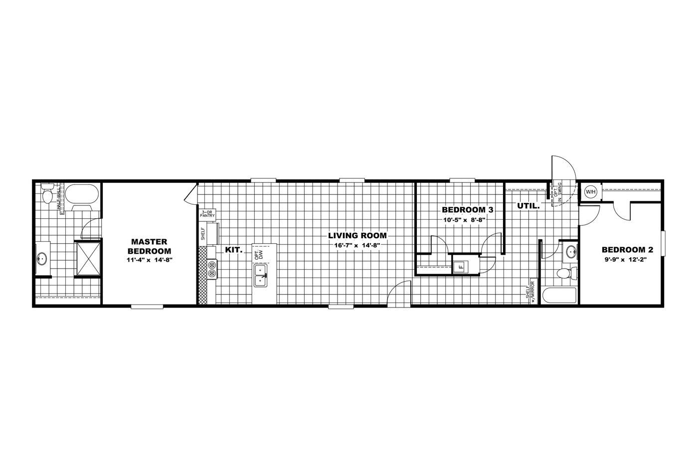 Victory Plus Floorplan