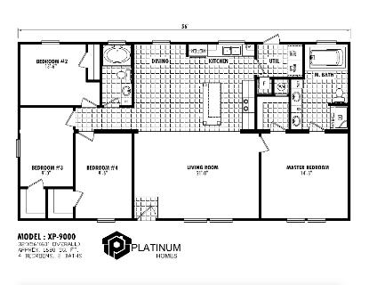 The Harrison Floorplan