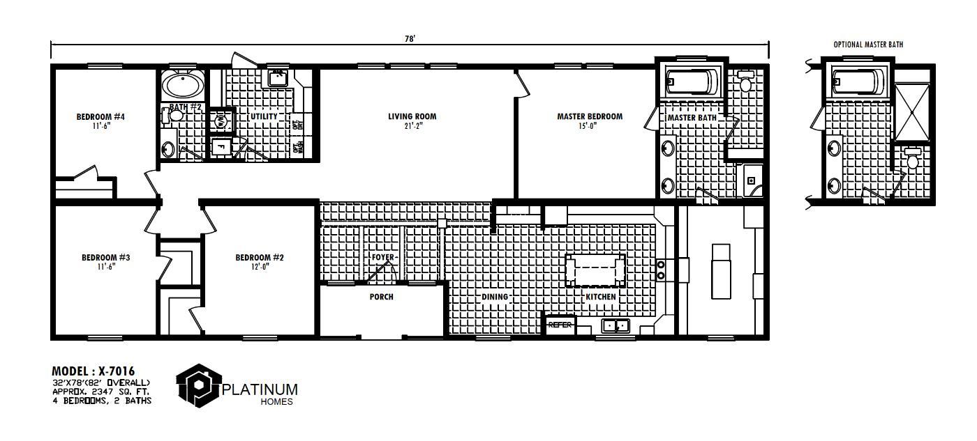 The Eisenhower Floorplan