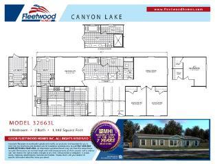 Canyon Lake 32663L Floorplan