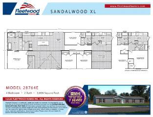 Sandalwood 28764E Floorplan