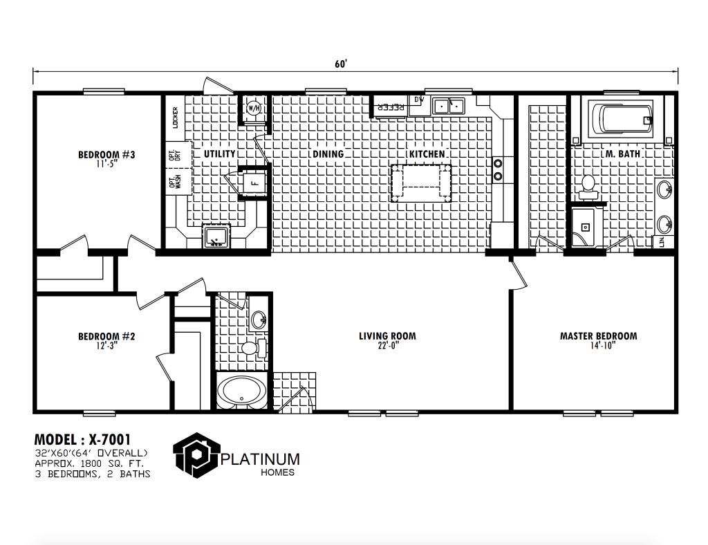 The Adams  Floorplan