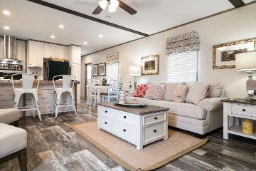 The Edge 16x64 living room