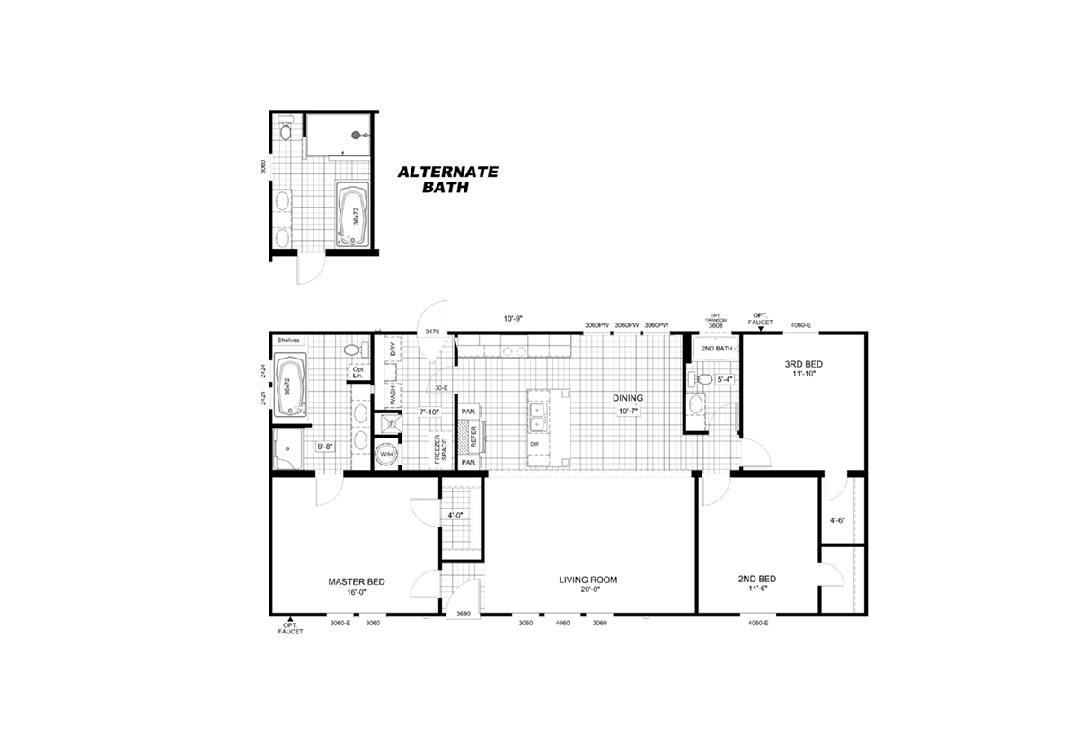 The Parker Floorplan