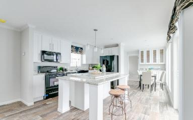 The Modern Kitchen of the Harding Cavalier Homes Manufactured Home from Timberline Homes of Jasper, AL