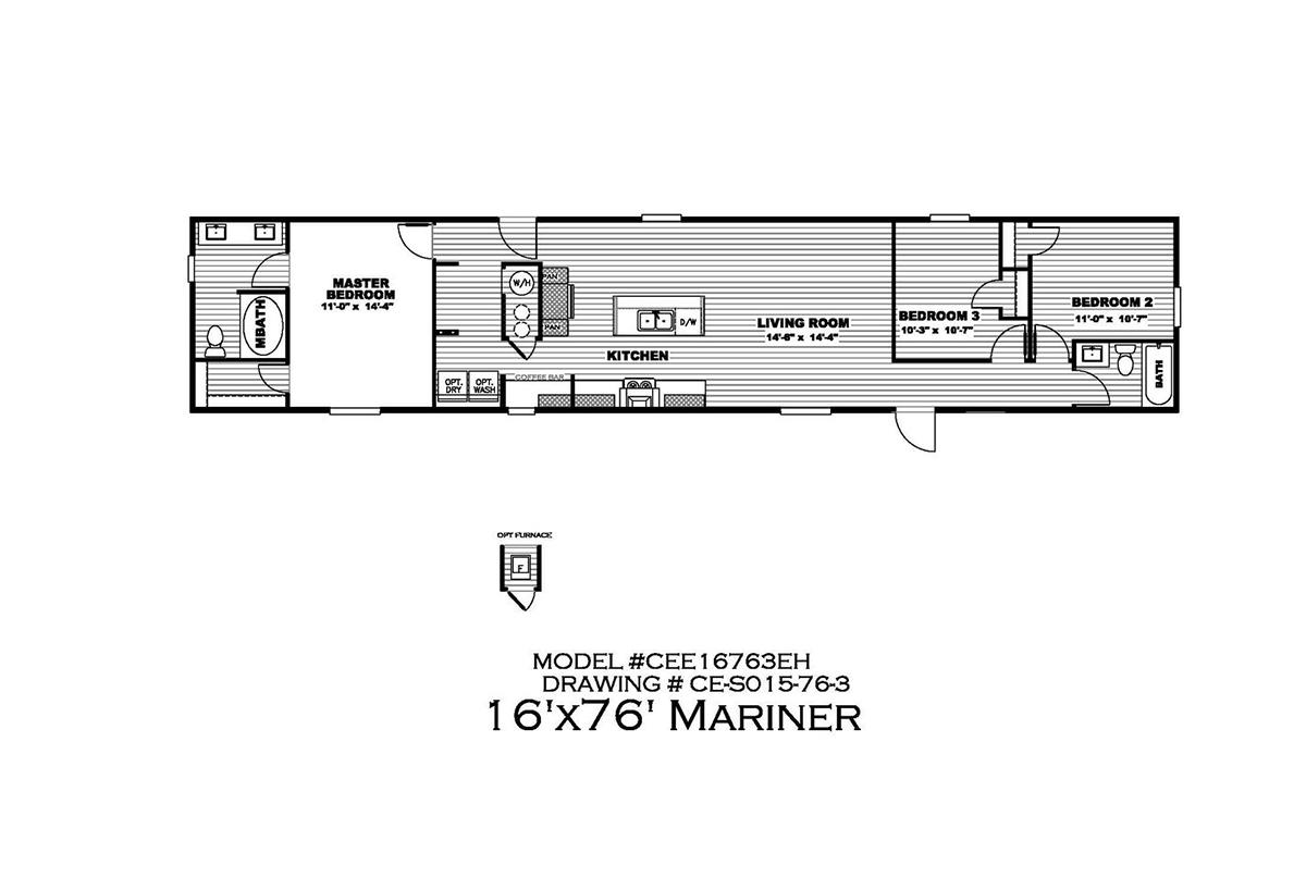 The Mariner Floorplan
