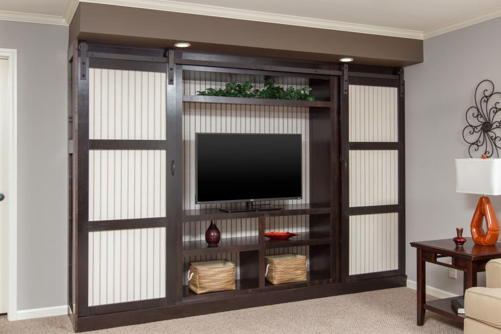 The Adams Living Room