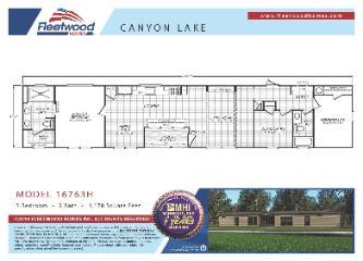 Canyon Lake 16763H Floorplan