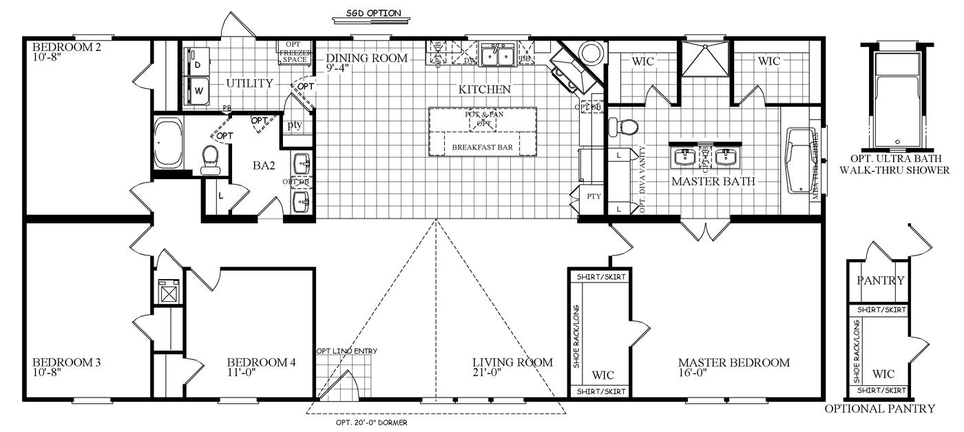 The Drake  Floorplan