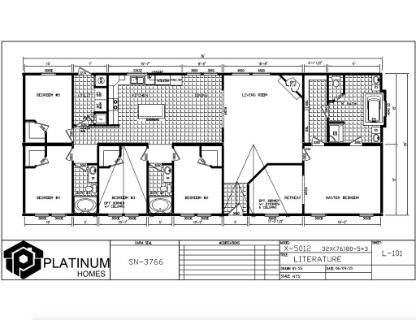 The Cleveland Floorplan