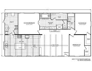 Canyon Lake 32603G Floorplan