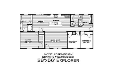 The Explorer Floorplan