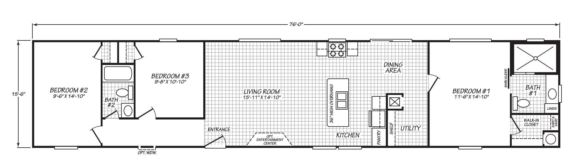 The Excursion Floorplan