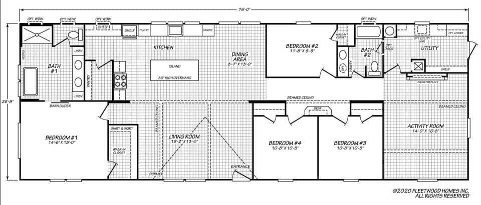 The Entertainer  Floorplan