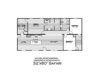 The Safari Floorplan