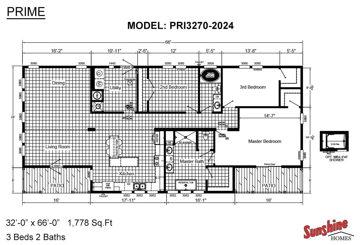 Prime Floorplan