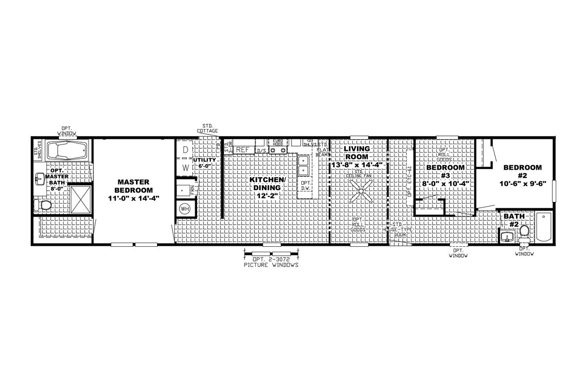 The Frontier  Floorplan