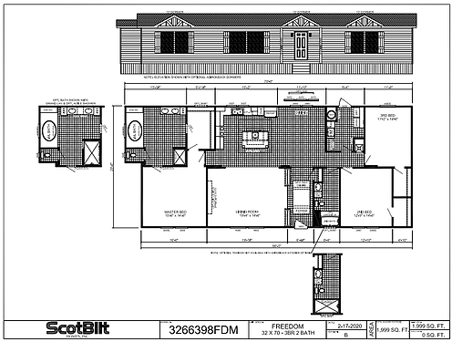 Freedom III Floorplan