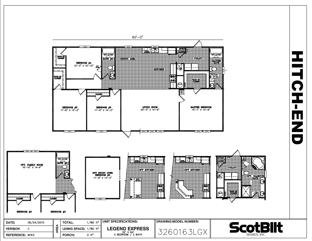 The Legend III Floorplan