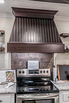 The Kitchen Stove of the Scot Bilt Freedom manufactured home from Affordable Homes of Crestview