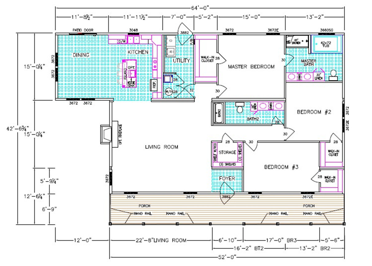 The Lilly Floorplan