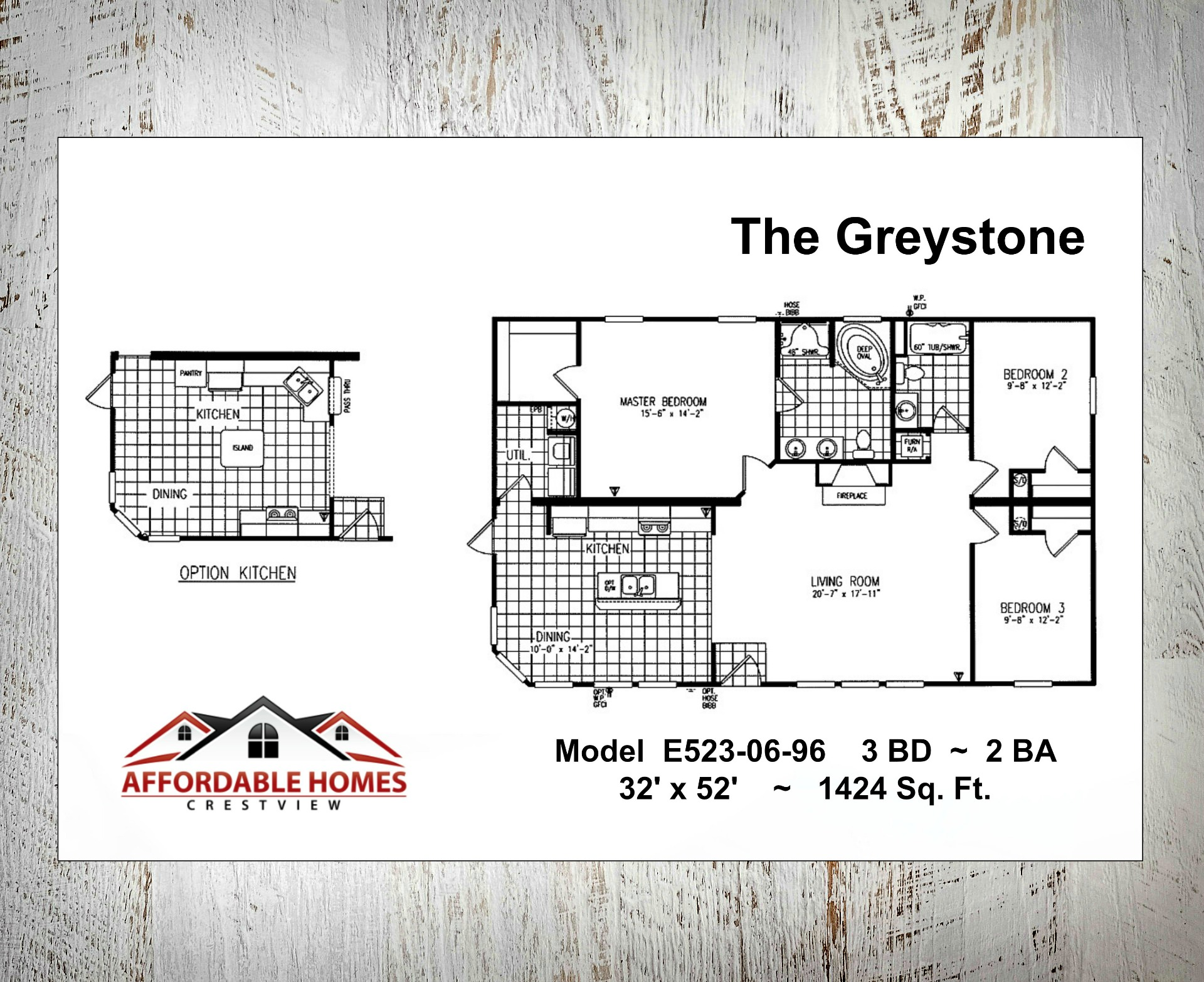 The Greystone Floorplan
