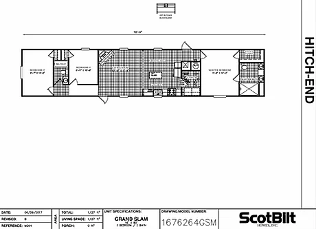 The Grand Slam SW Floorplan