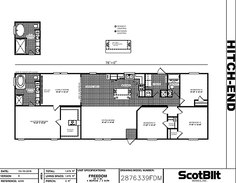 Freedom II Floorplan
