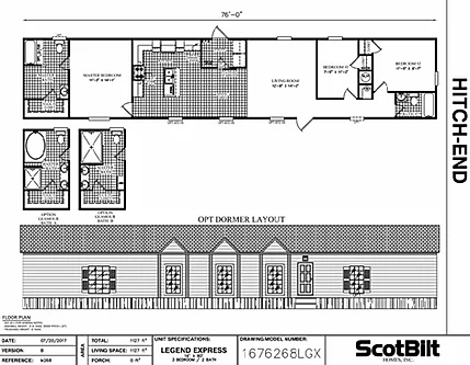 The Legend II Floorplan