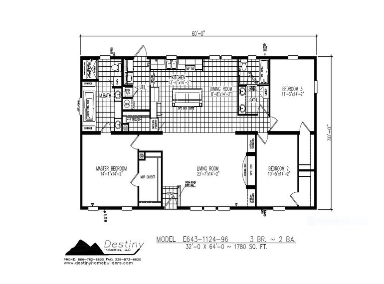 The Cherokee Floorplan