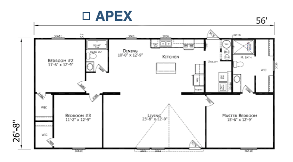Apex Floorplan