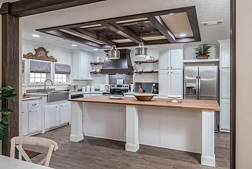 The Kitchen of the Scot Bilt Freedom manufactured home from Affordable Homes of Crestview