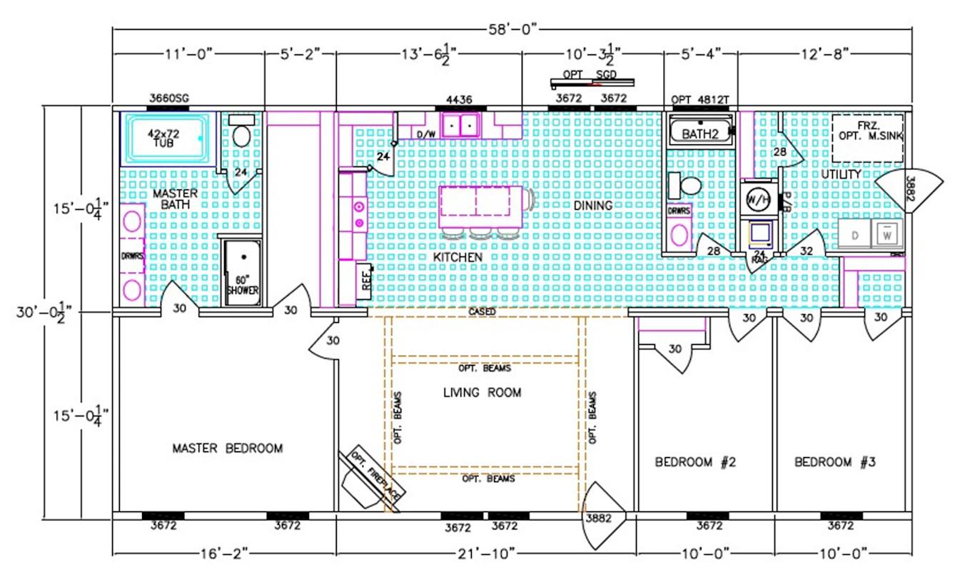 The Ace Floorplan