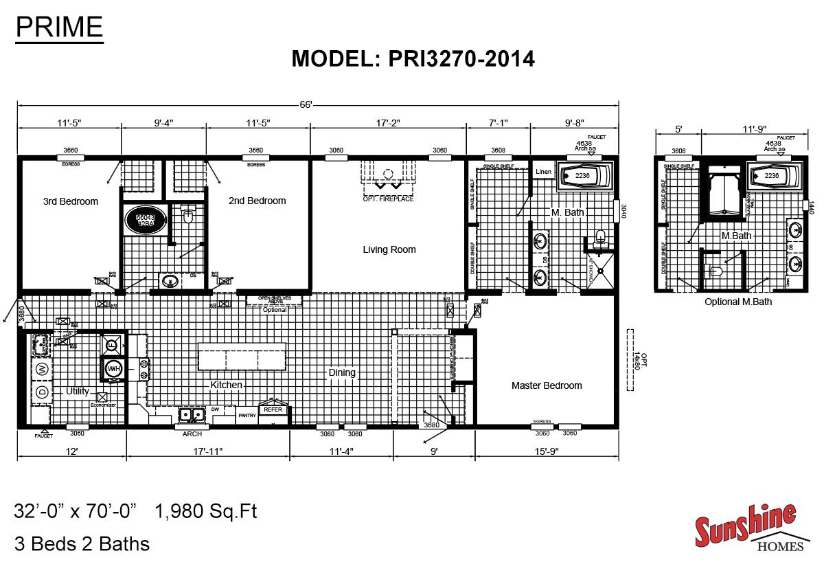 Prime / PRI3270-2014 Floorplan