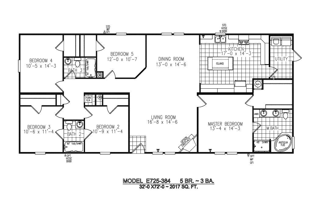 The Durango Floorplan