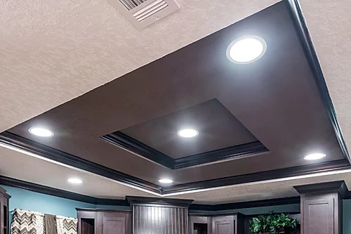 The accent light of the Scot Bilt Legend manufactured home from Affordable Homes of Crestview