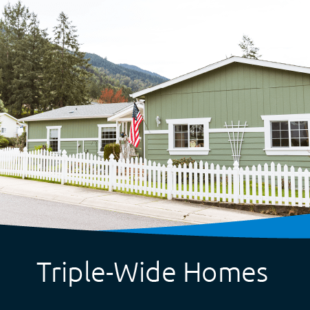 Triple-Wide Homes